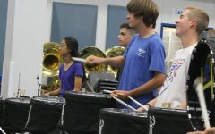 Drumming to Victory, the Drumline Preps for the Lone Star Drumline Competition