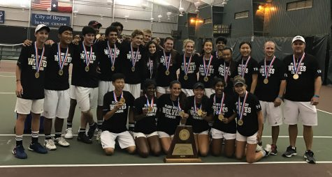 Tennis Team Wins 14th District Title