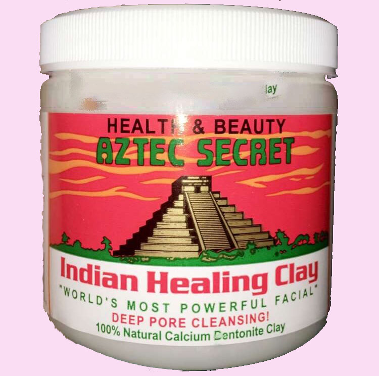 Indian Healing Clay facial mask.