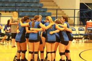 Lady Wolves Volleyball Team