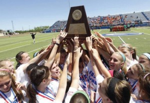 Lady Wolves Crowned 5A State Champs