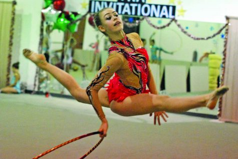 Gymnast Goes for Gold