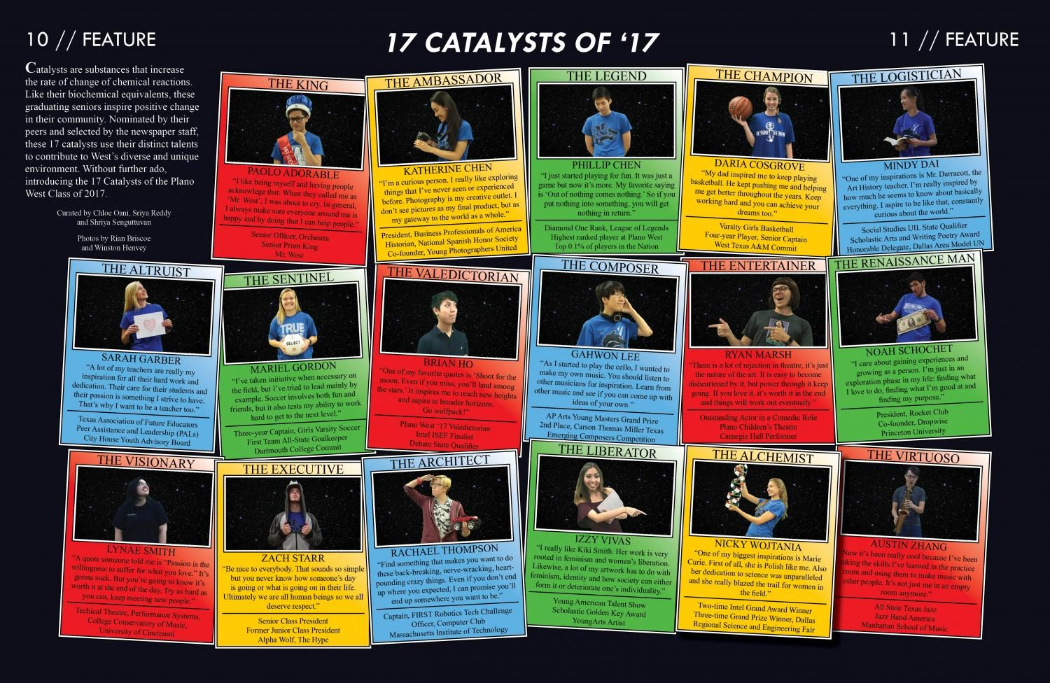 17 Catalysts of