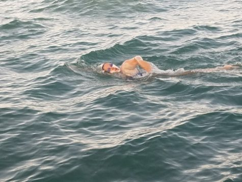 Keep Swimming: A Teacher Swims Across the English Channel