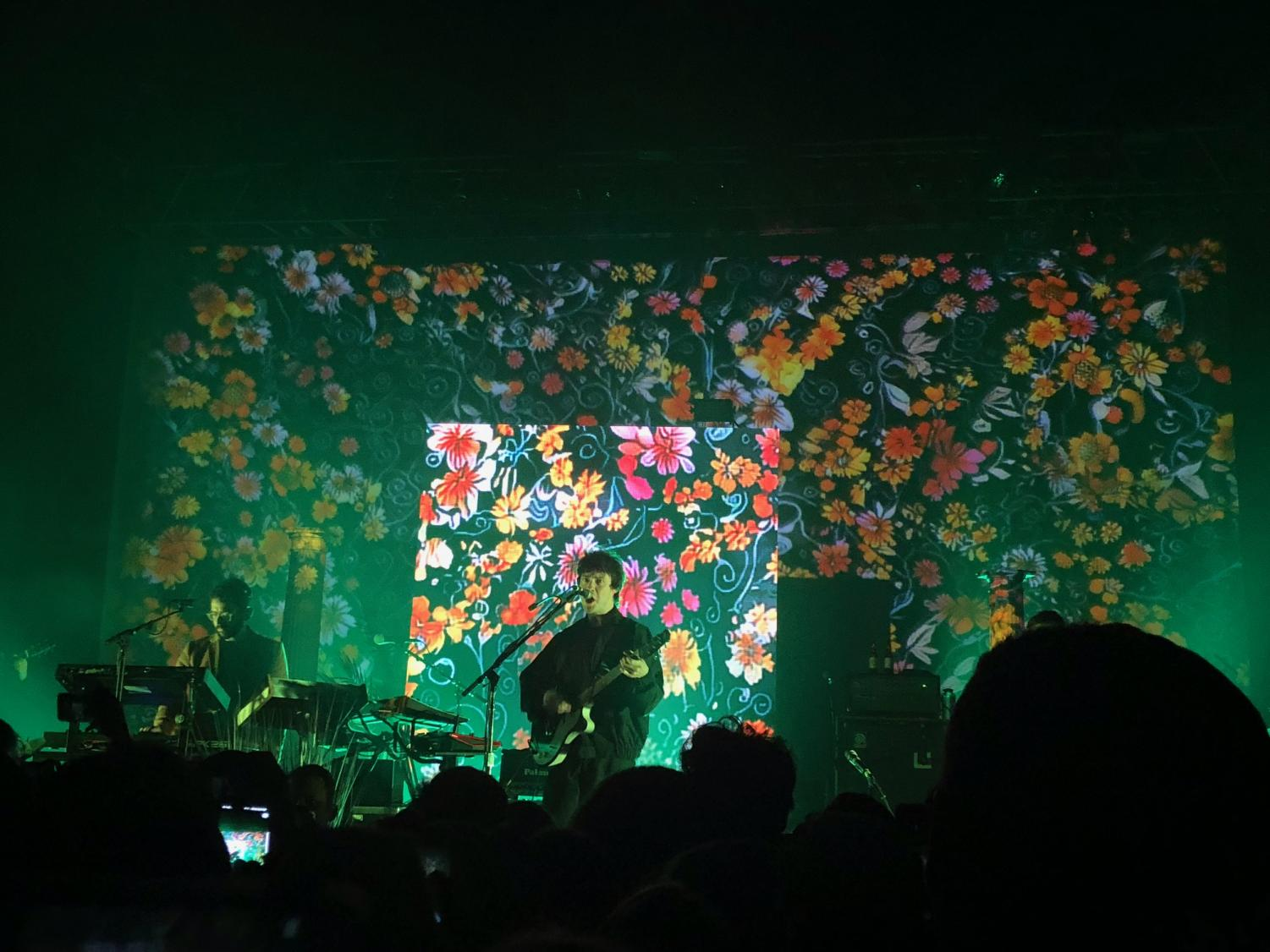 VanWyngarden and Goldwasser perform live at the Southside Ballroom.
